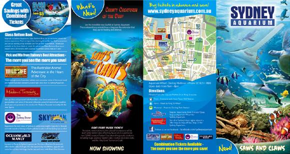 Sydney Aquarium Brochure